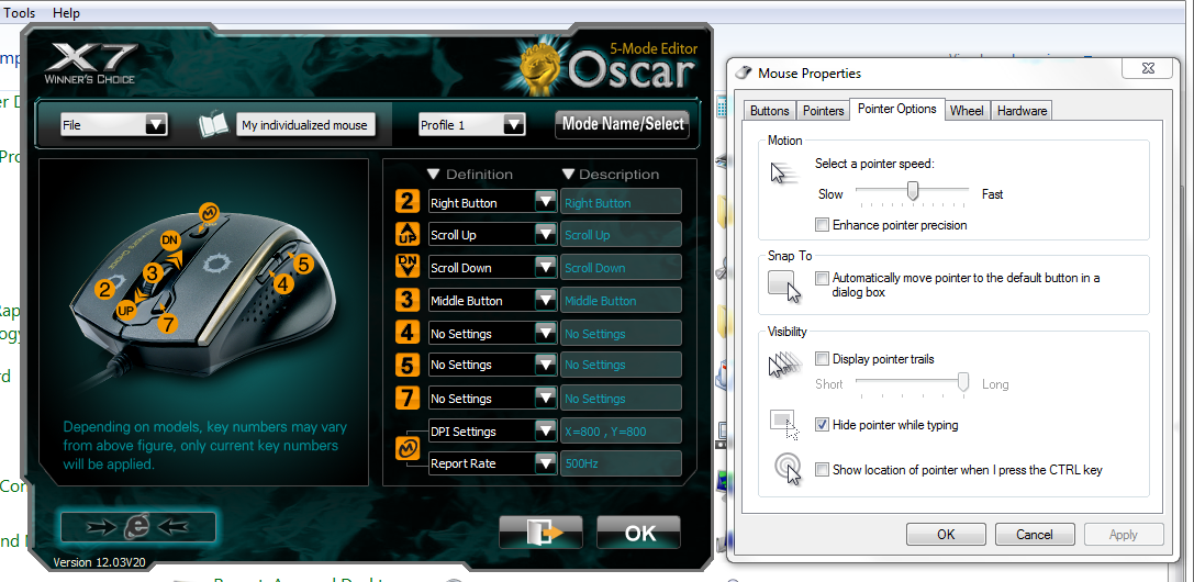 Cara setting mouse macro x7 a4tech lengkap (qc qs no recoil).