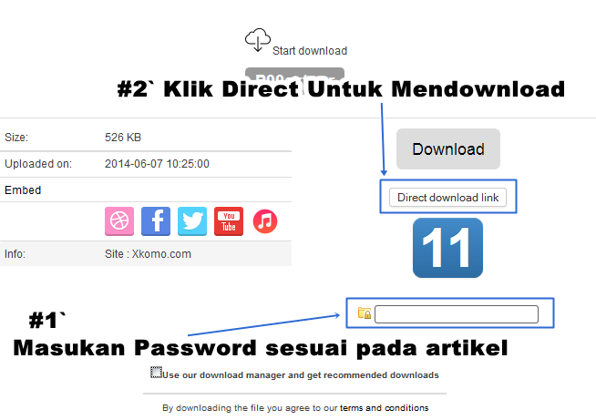 Tutorial Cara Download File Di Tusfiles