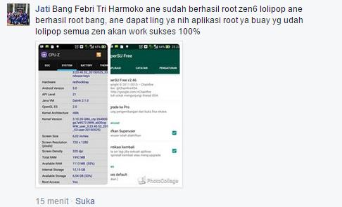 Cara Root ASUS Zenfone 4 5 6 And Zenfone 2 Android
