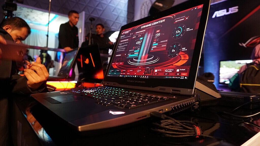 Kemeriahan Event Saat Peluncuran ASUS ROG GX800 - Game Center