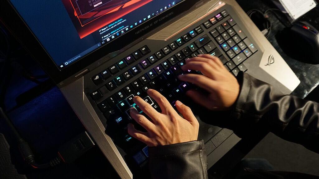 Kemeriahan Event Saat Peluncuran ASUS ROG GX800 - Keyboard RGB