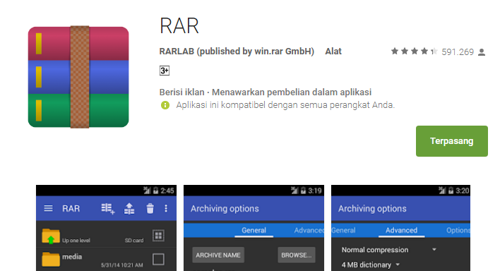 Tutorial Extract File Rar Zip Di Smartphone Asus Zenfone
