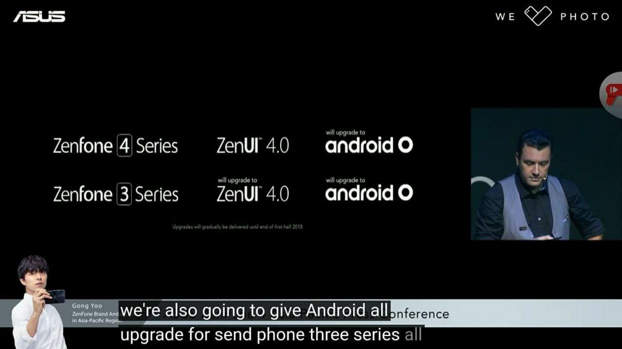 Zenfone 3 Series Resmi Mendapatkan OS O & Update ZenUI 4.0