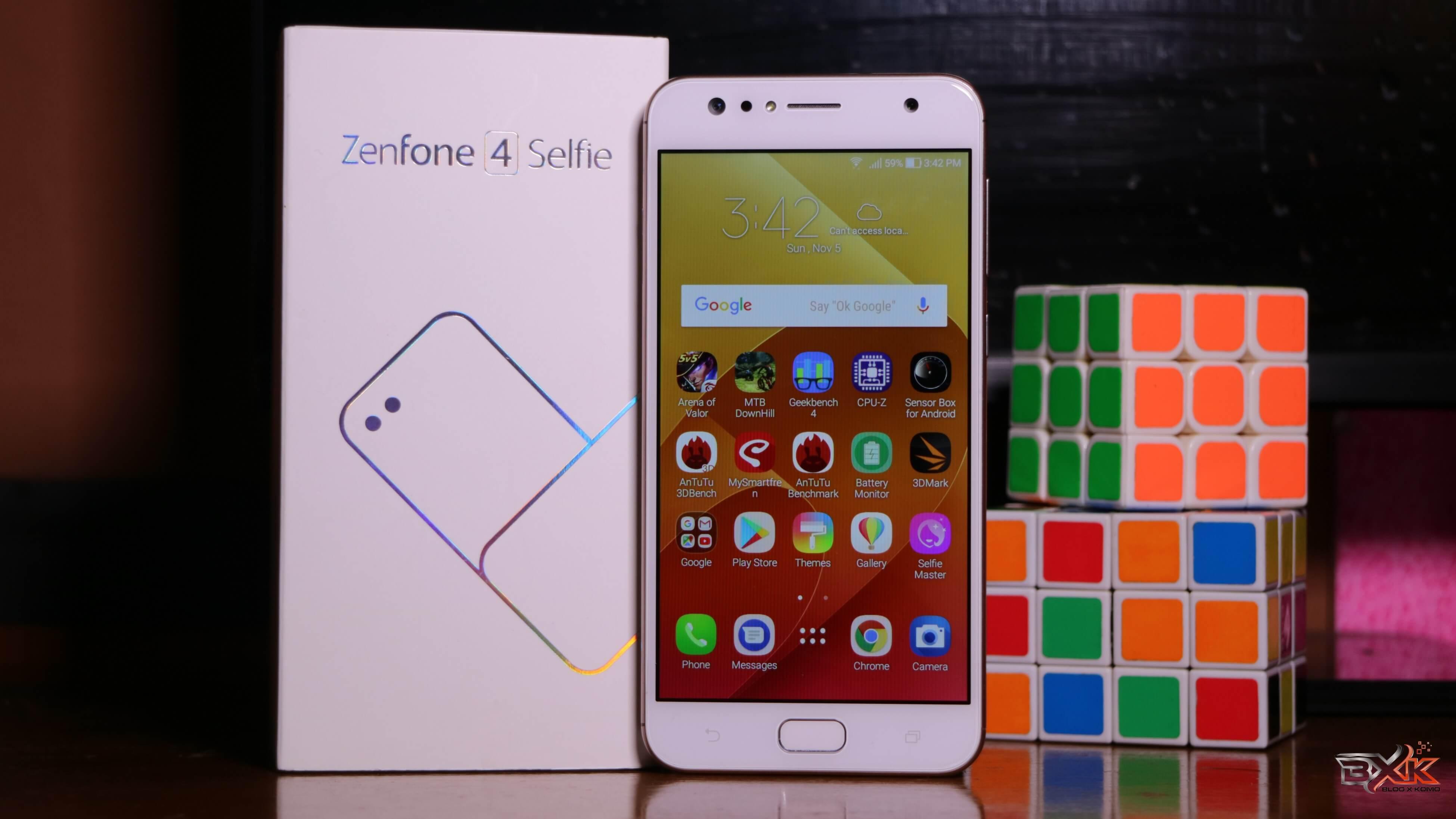 Review ASUS Zenfone 4 Selfie (ZD553KL) : HP Selfie & Wefie