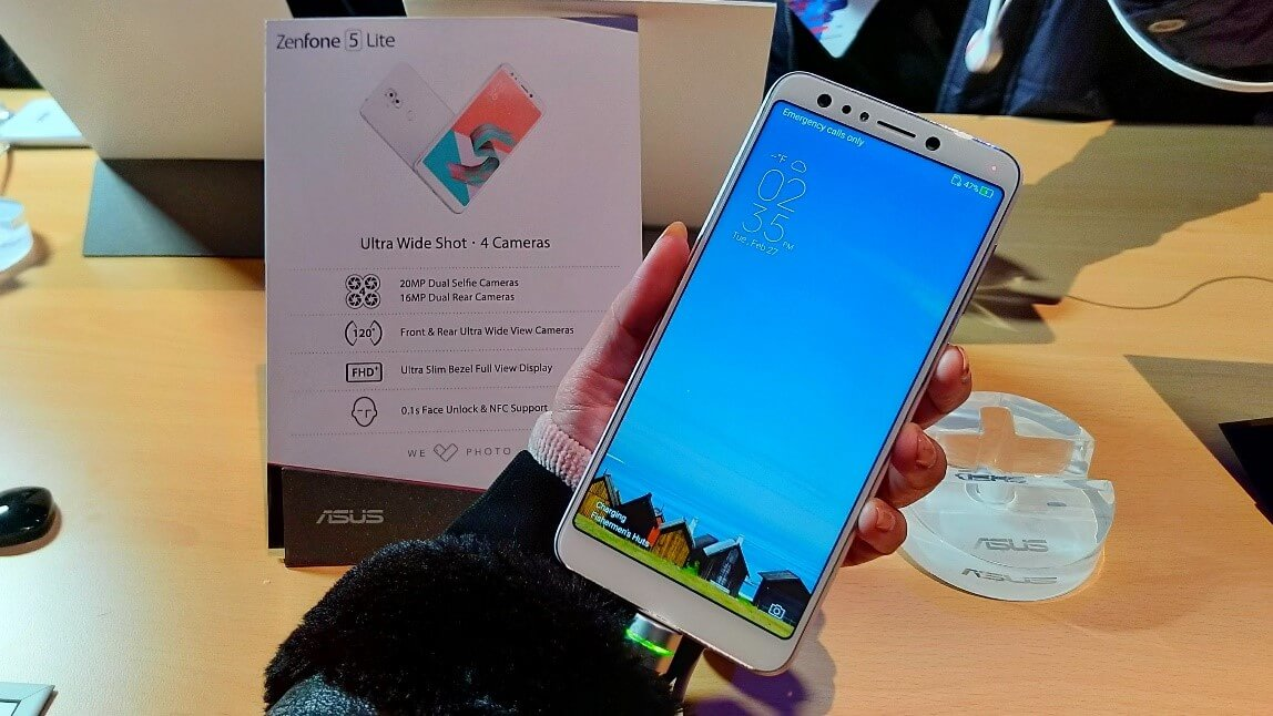 Penampakan Zenfone 5 Lite