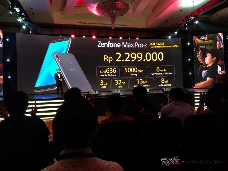 Harga Zenfone Max Pro M1 3GB - 32GB