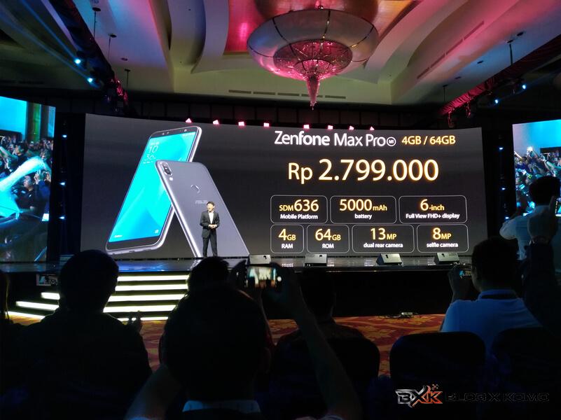 Harga Zenfone Max Pro M1 4GB - 64GB