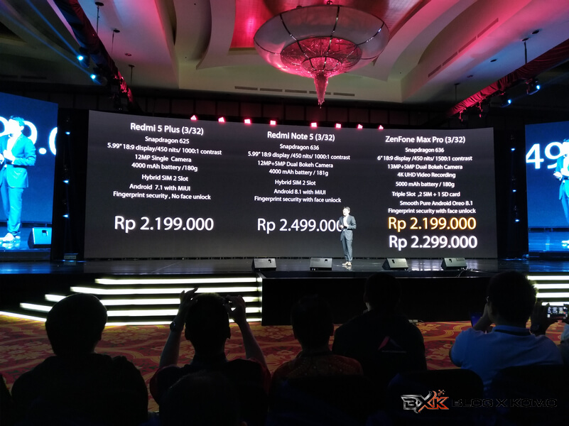 Harga varian Zenfone Max Pro M1
