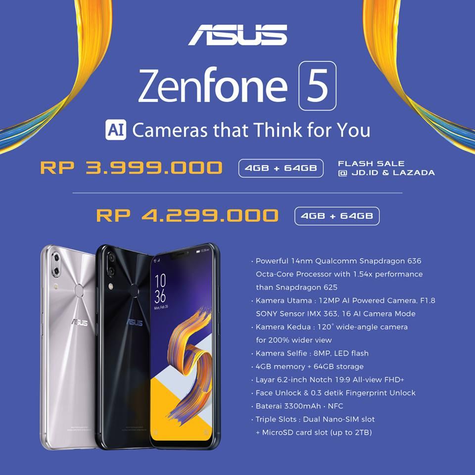 Post card - Harga dan Spesifikasi Zenfone 5