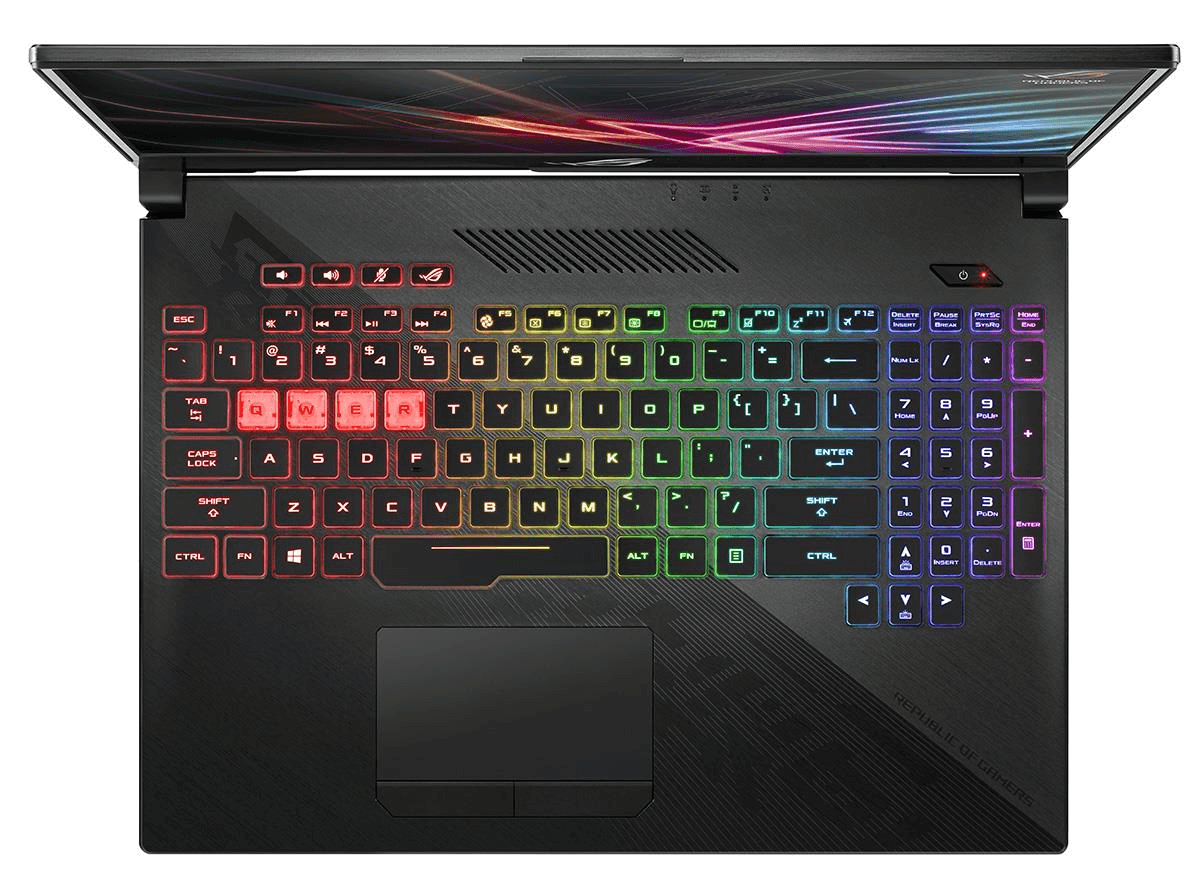 ASUS ROG STRIX GL504 HERO II - Keyboard Full RGB