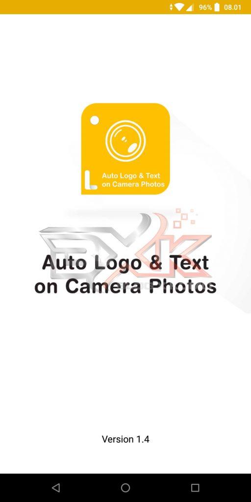 Cara Pasang Logo atau WaterMark Otomatis Pada Foto Smartphone - Step 1