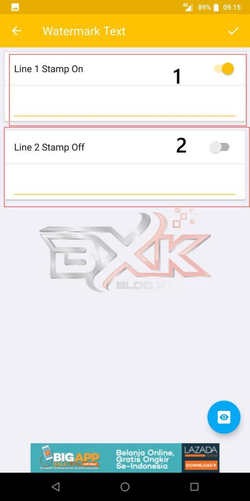 Cara Pasang Logo atau WaterMark Otomatis Pada Foto Smartphone - Step 11