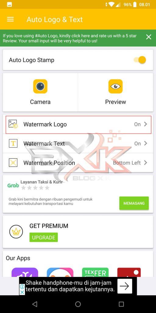 Cara Pasang Logo atau WaterMark Otomatis Pada Foto Smartphone - Step 3