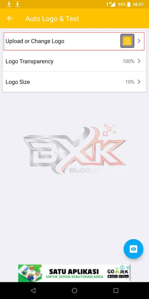 Cara Pasang Logo atau WaterMark Otomatis Pada Foto Smartphone - Step 4
