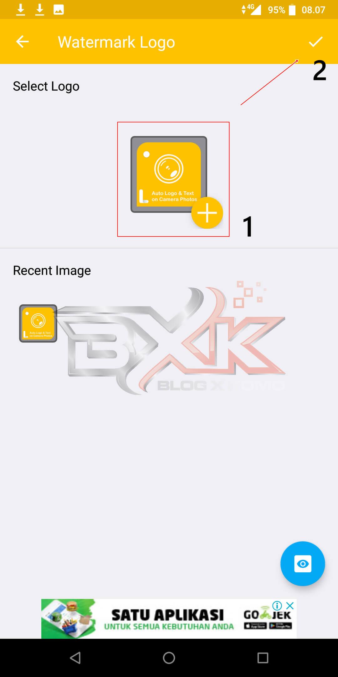 Cara Pasang Logo / WaterMark Otomatis Pada Foto Smartphone