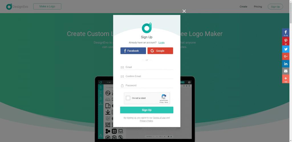 Review Designevo Gratis Membuat Logo Keren Dan Mudah - P1
