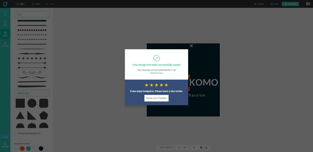 Review Designevo Gratis Membuat Logo Keren Dan Mudah - P6
