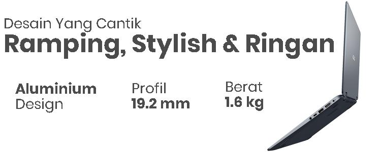 ASUS VIVOBOOK FLIP 14 TP410 - Design Cantik, Ramping, Stylish & Ringan