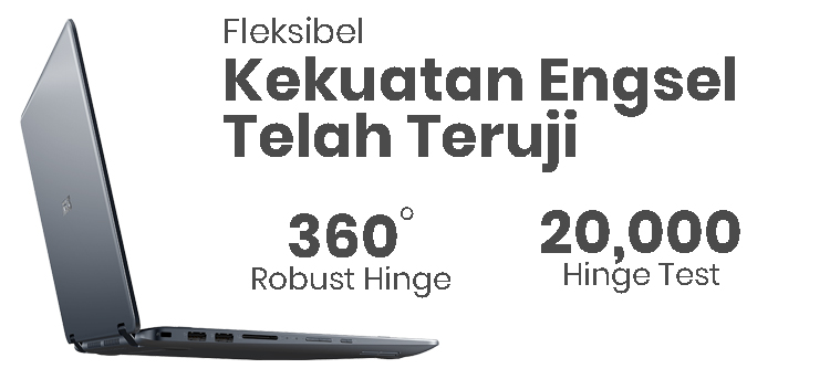 ASUS VIVOBOOK FLIP 14 TP410 - Fleksibel