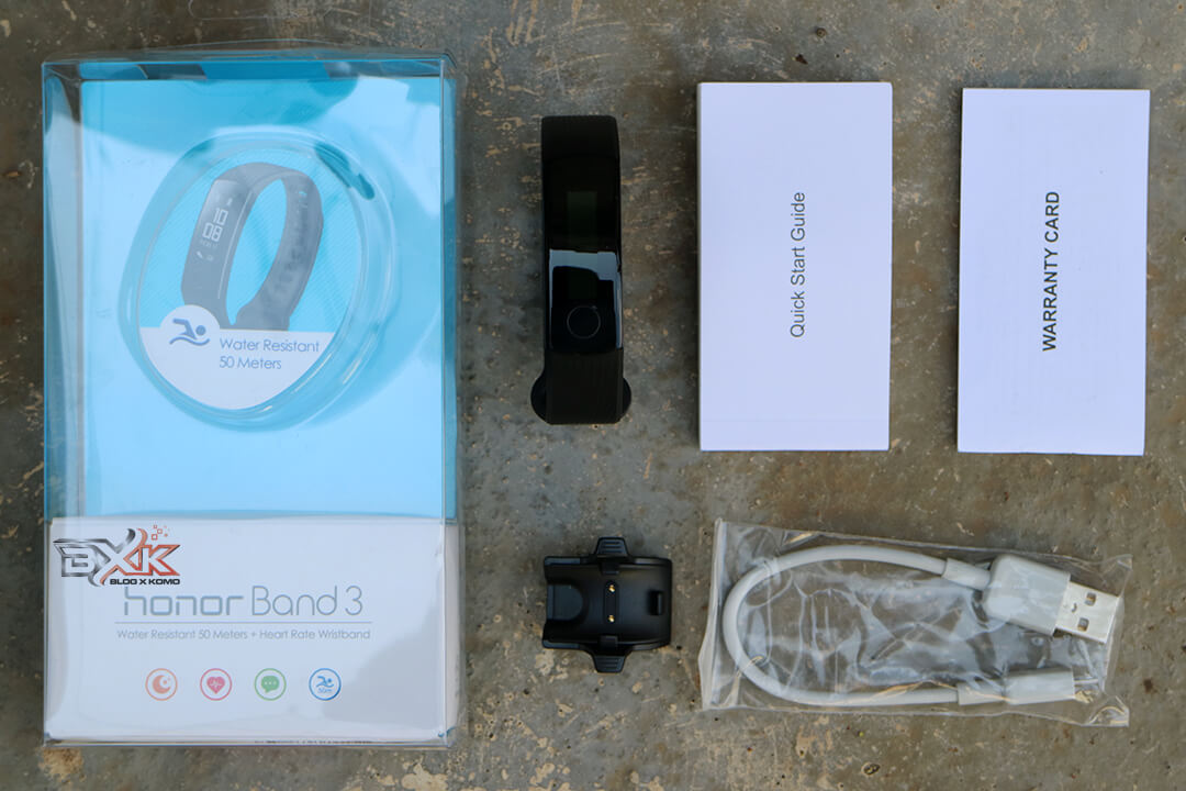 Unboxing Honor Band 3