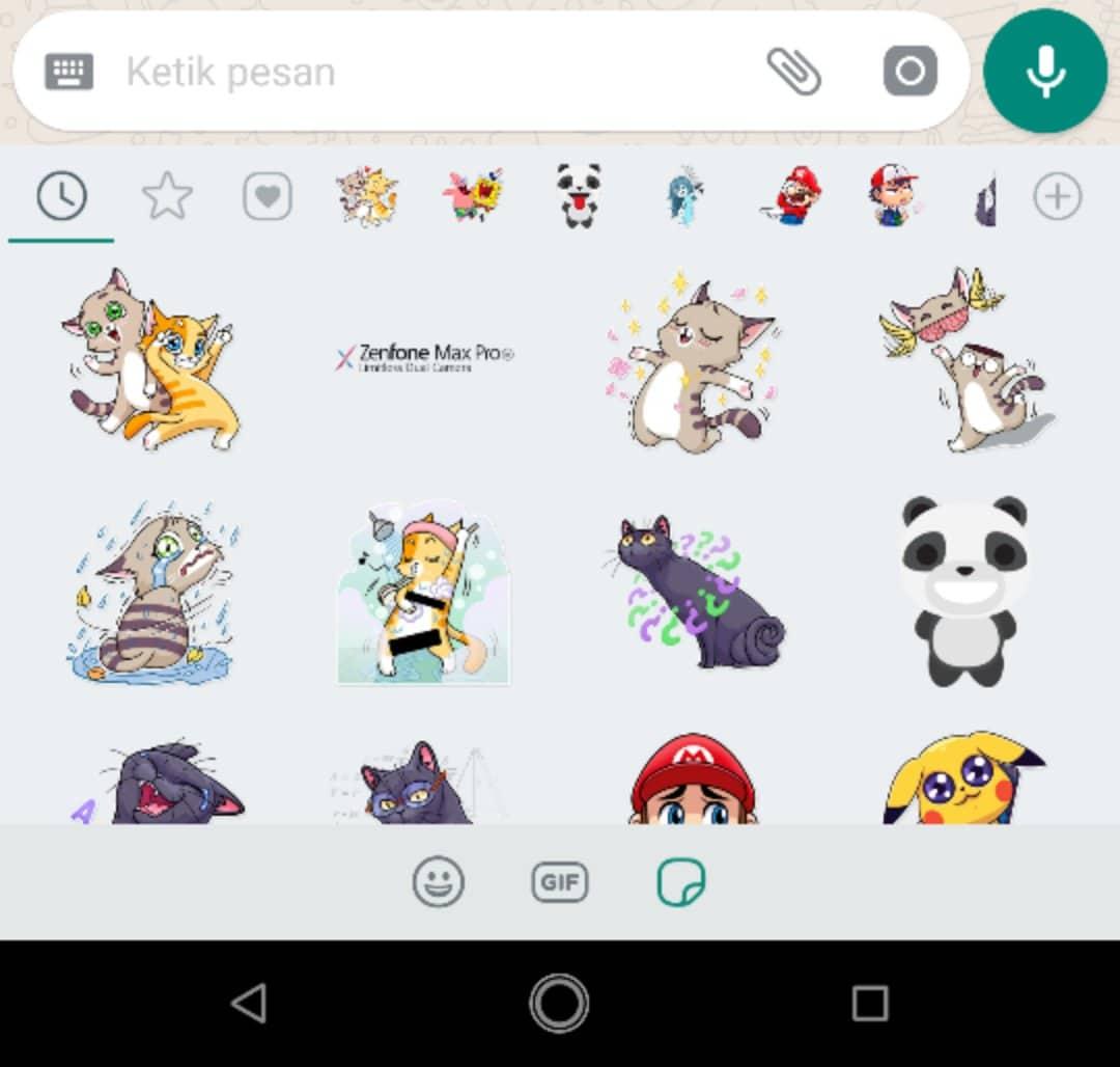 Cara Mengaktifkan Fitur Stiker Di Aplikasi Whatsapp