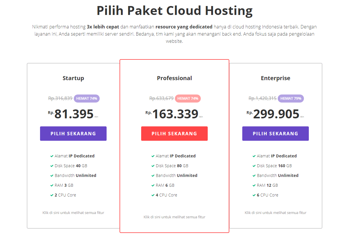 Paket Cloud Hosting Black Friday & Cyber Monday by Hostinger November 2018