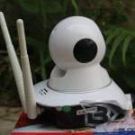 Review SPC IP Camera HD - CCTV Rumah Murah & Berkualitas Baik Samping Kanan