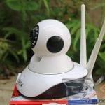 Review SPC IP Camera HD - CCTV Rumah Murah & Berkualitas Baik samping kiri