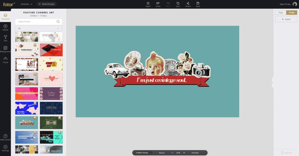 Review Fotor - Aplikasi Edit Foto Dan Desain Gratis - Design Templates