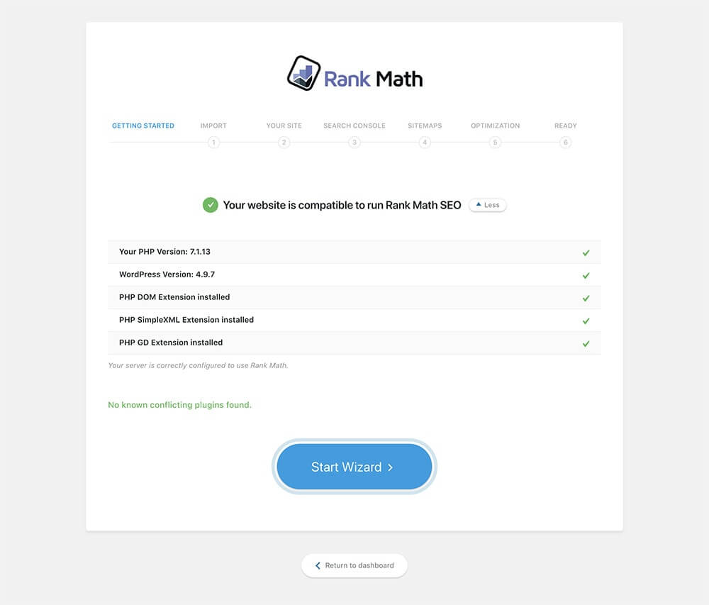Review Rank Math SEO - Freemium Plugin - Setup WIzard