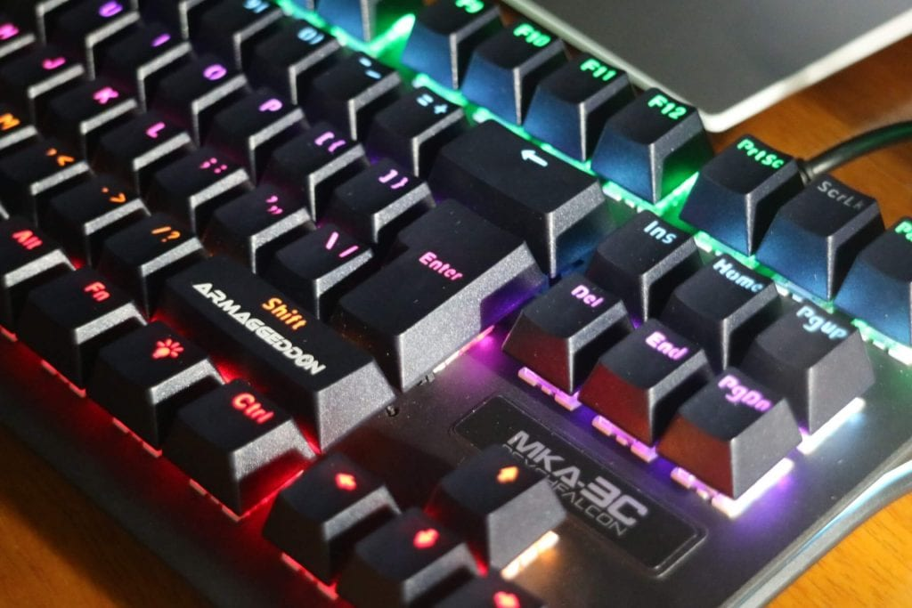 Keyboard Mechanical Switch MKA-3C Armaggeddon - Desain Keren Dan Full RGB