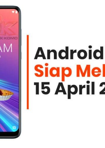FOTA Android 9 Pie Zenfone Max Pro M1 Dan Zenfone Max M2 Sudah Rilis Resmi