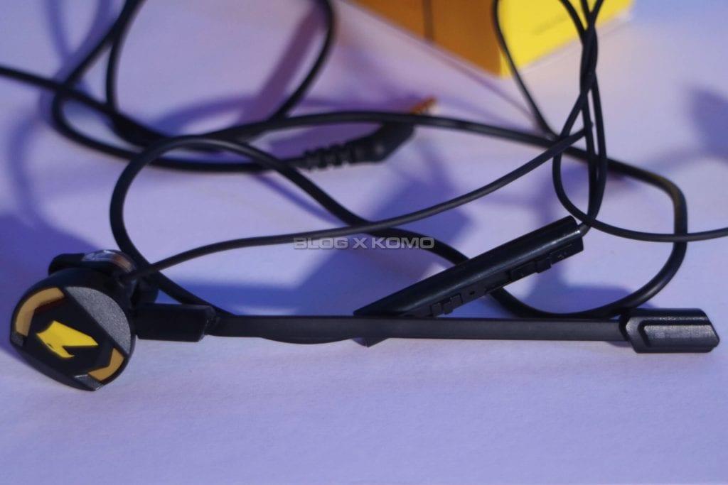 Unboxing Armaggeddon WASP 5 Gaming Earphone - Penampakan saat Pakai Mic Portable