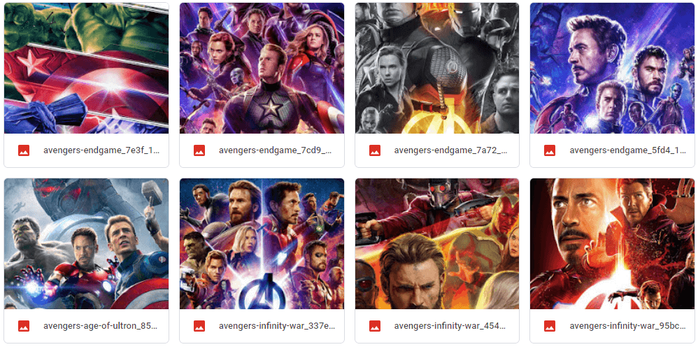 DOWNLOAD WALLPAPER AVENGERS