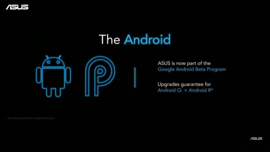 Zenfone 6 Menggunakan OS Android 9 Pie