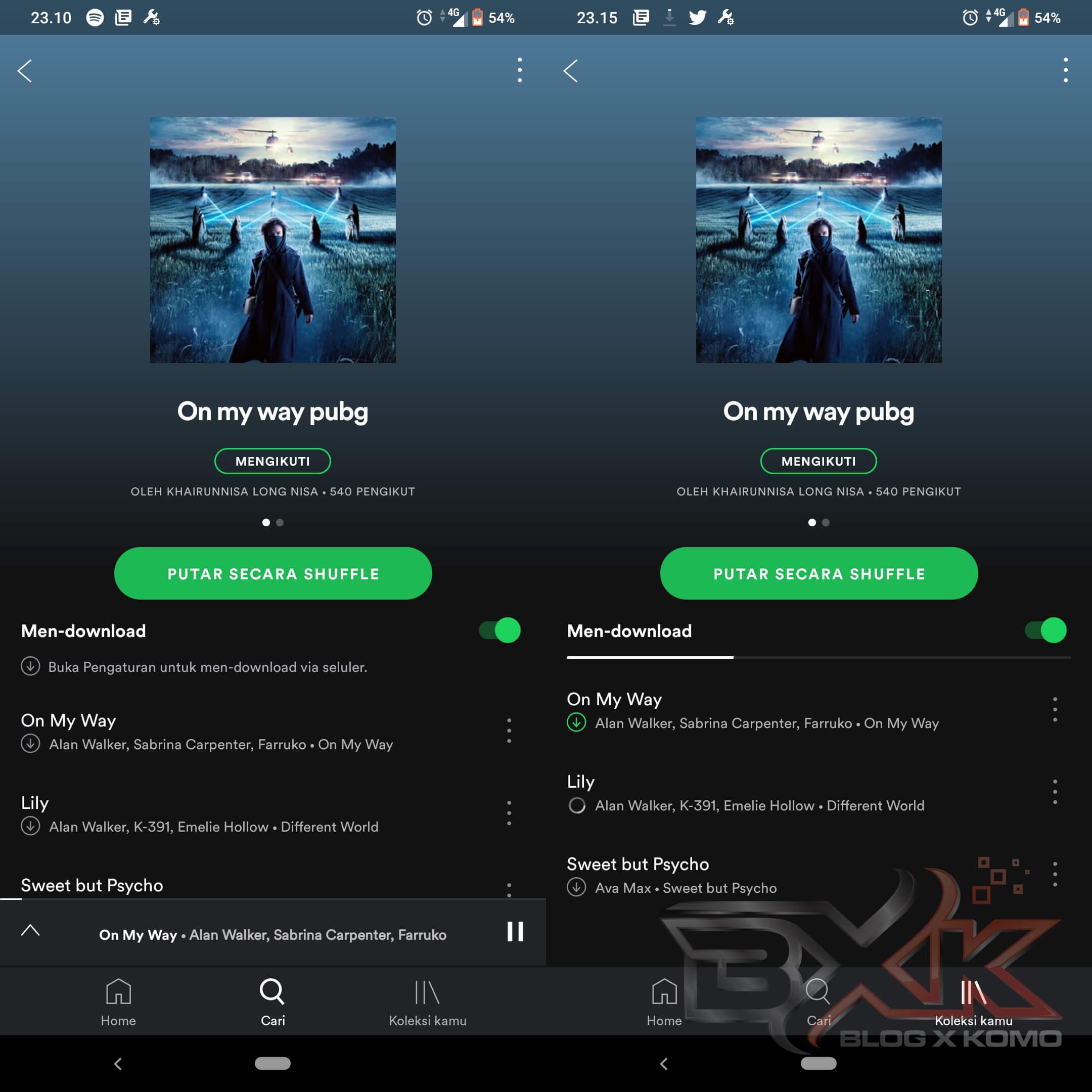 Cara Download Lagu di Spotify - Mengunduh Lagu