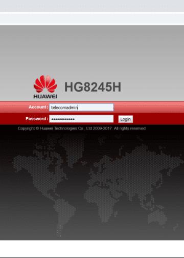 Cara Login Akun Admin Modem Indihome Huawei HG8245H
