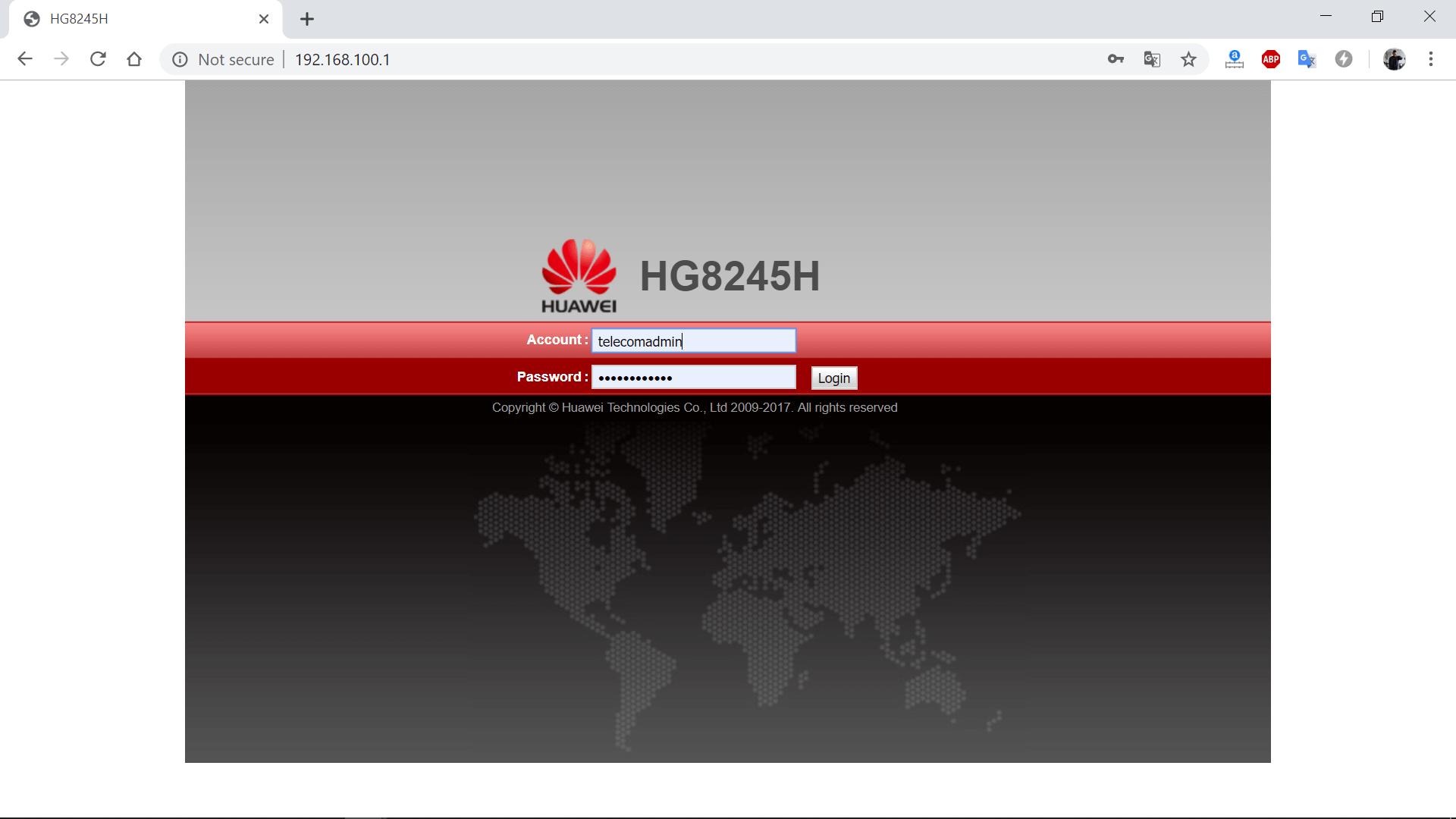 Cara Login Akun Admin Modem Indihome Huawei Hg8245h Hg8245a