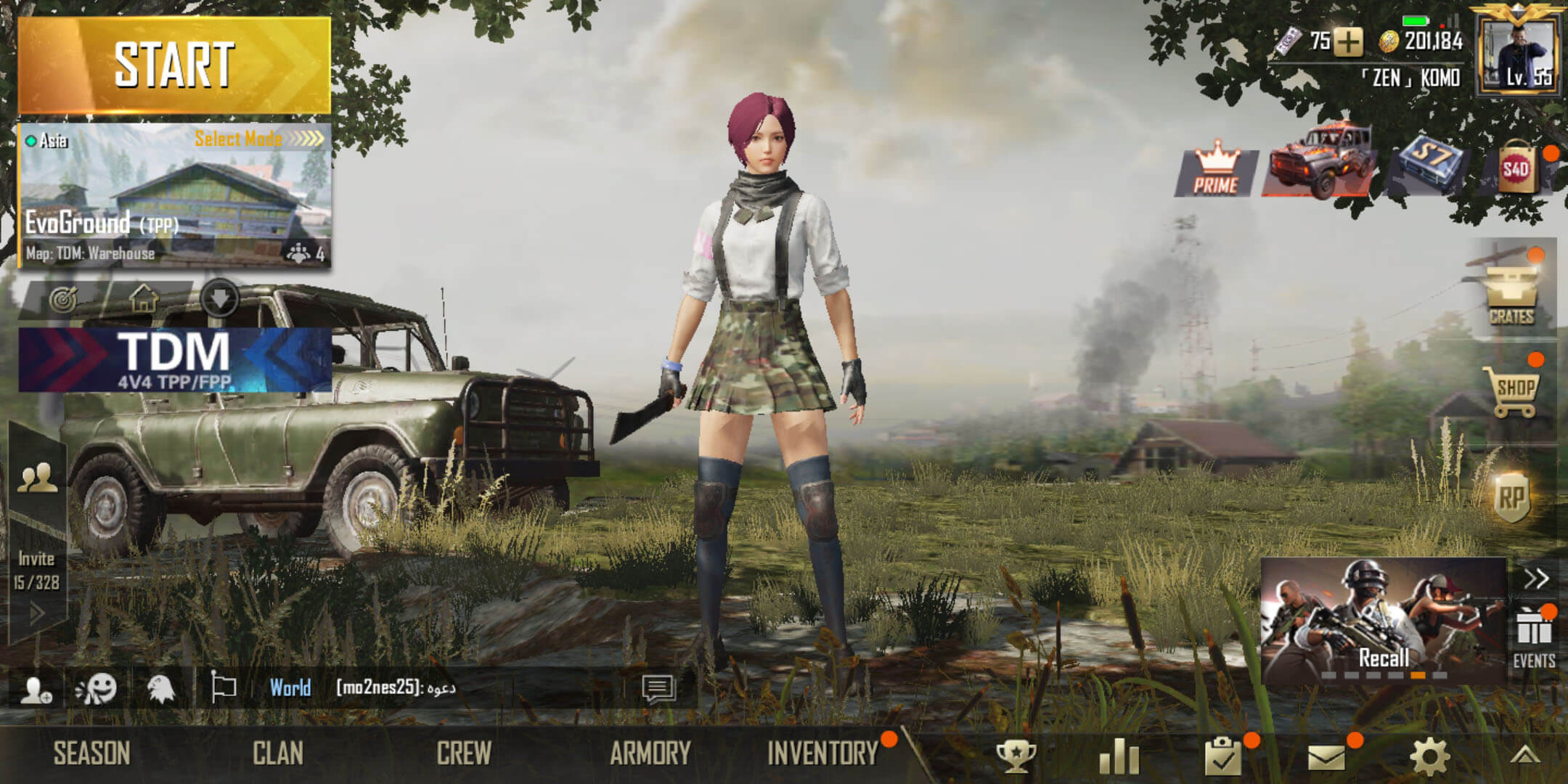 Cara Top Up PUBG Mobile Via Pulsa - Lobby Game PUBG