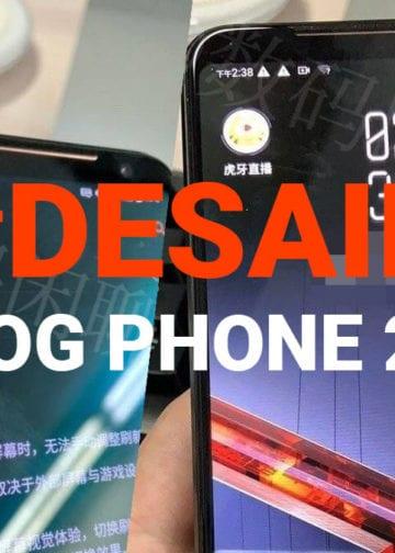 Bocor Penampakan Desain ROG Phone 2 Terbaru 2019