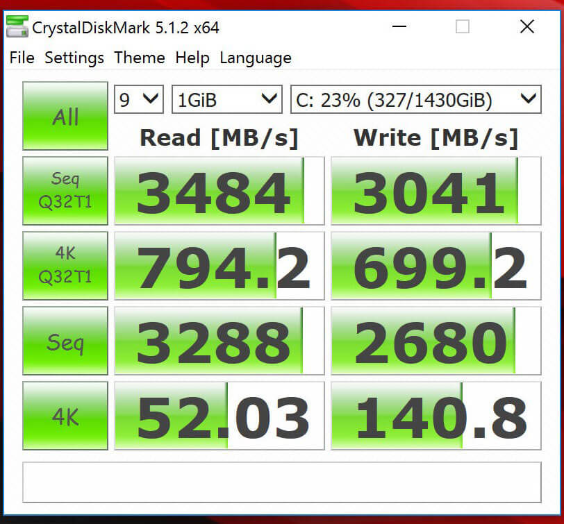 Review-ASUS-ROG-GX800-Optimized-Benchmark-CrystalDiskMark