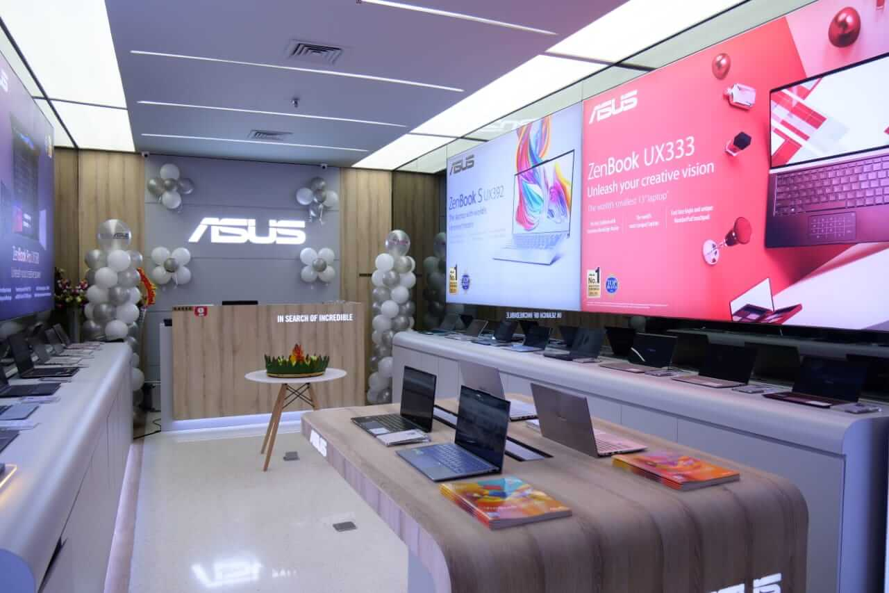 ASUS Resmi Buka ZenBook Store Pertama di Indonesia - Penampakan Toko