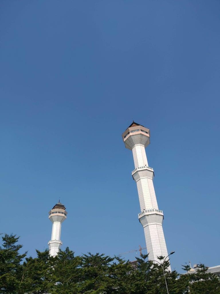 Menginap Semalam Di Hotel Heritage Savoy Homann Bandung - Menara Masjid Alun-alun Kota Bandung