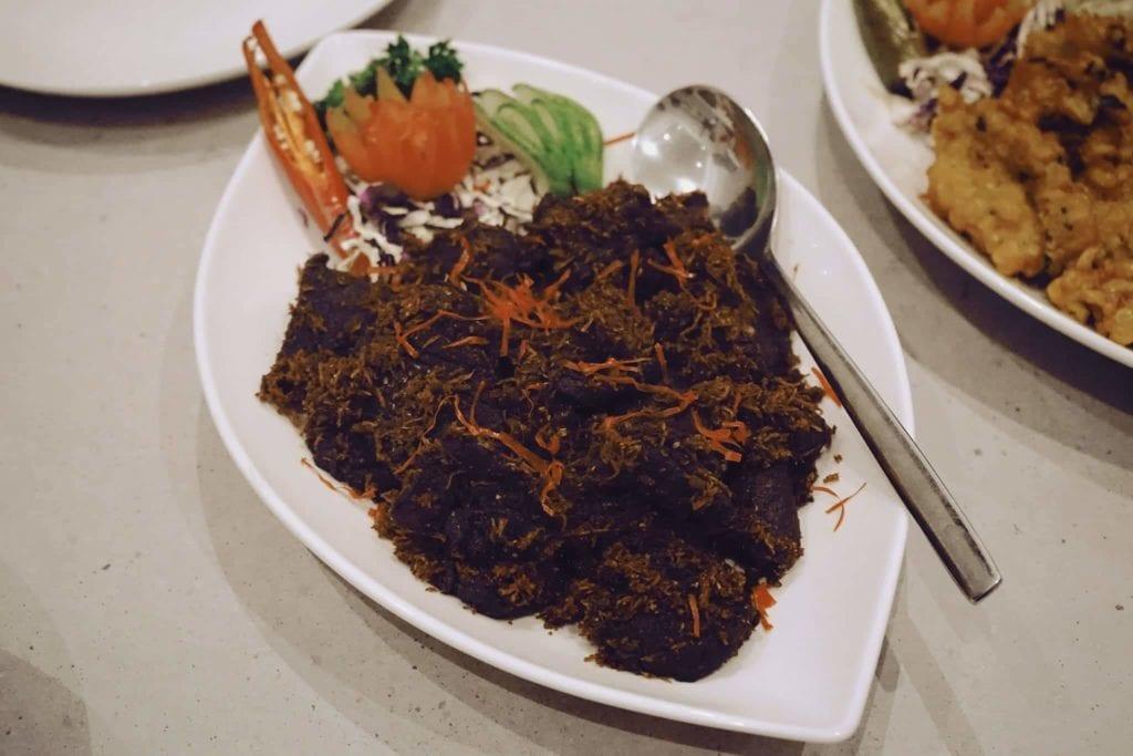 Menginap Semalam Di Hotel Heritage Savoy Homann Bandung - Menu Rijstaffel #2