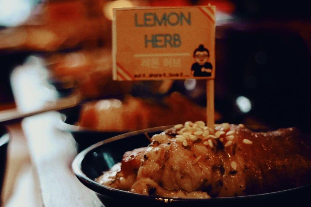 Nyobain Makanan Korea di Fat Oppa Bandung - BBQ Fried Chicken