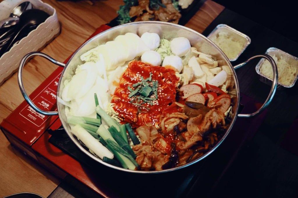 Nyobain Makanan Korea di Fat Oppa Bandung - Budae Jigae