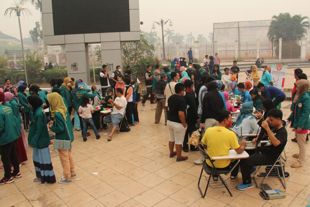 Forest Talk - Dokumentasi Kegiatan Peduli Kesehatan Masyarakat Kota Jambi Tahun 2015 - Jambi Darurat Asap
