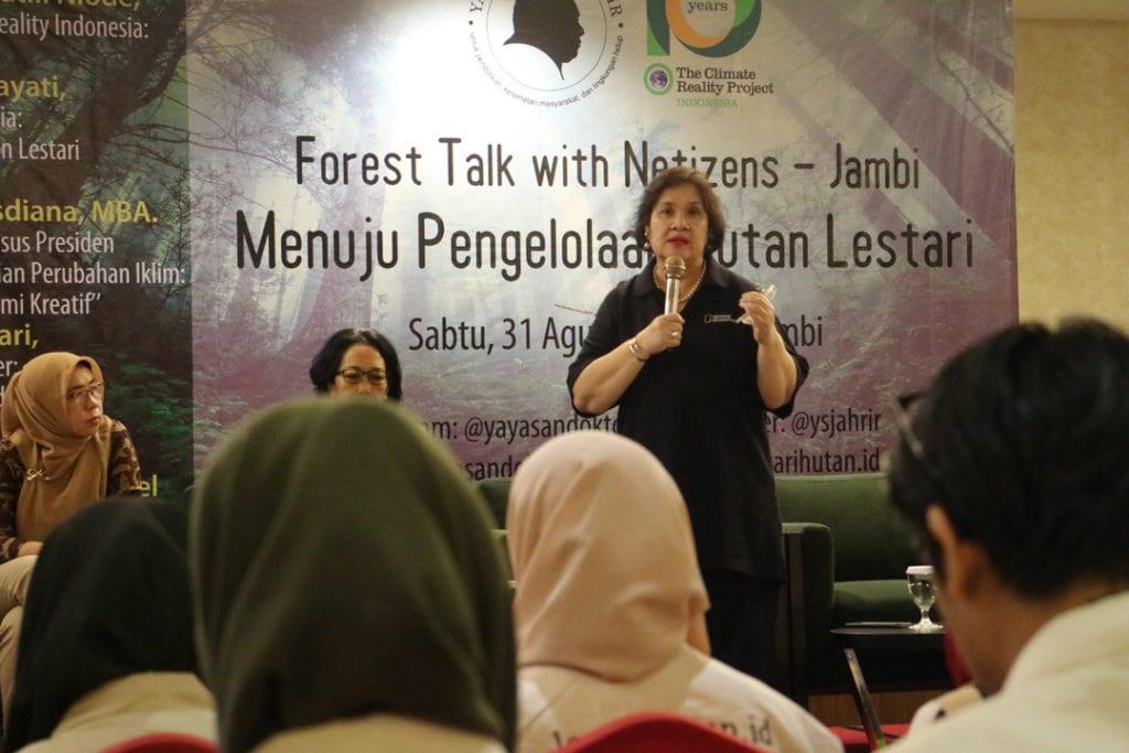 Forest Talk - Pentingnya Melestarikan Hutan - Dr. Amanda Katili Niode