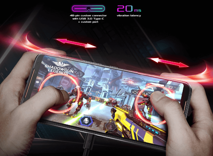 ASUS ROG Phone 2, Smartphone Gaming Impian Resmi Rilis di Indonesia - Ultrasonic AirTriggers