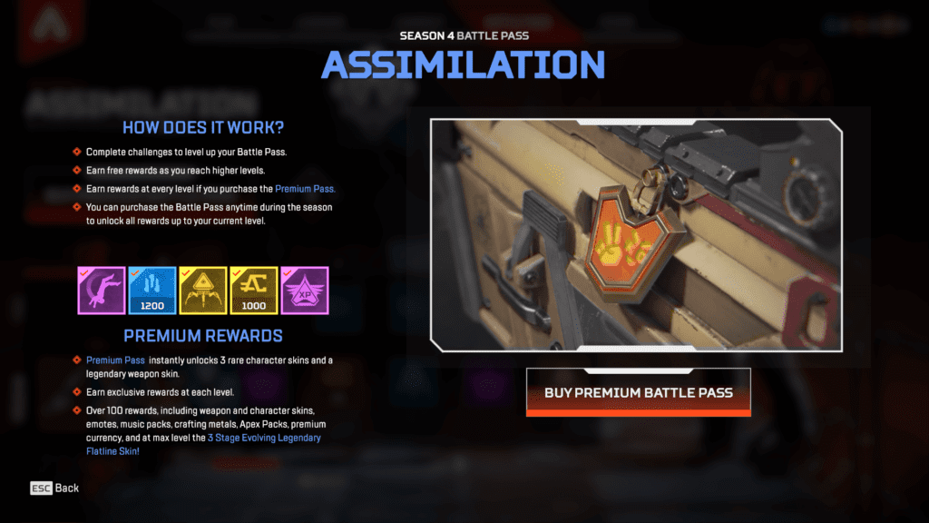Apex Legends Season 4 Assimilation Hadir dengan 100+ Exclusive Items - Battle Pass